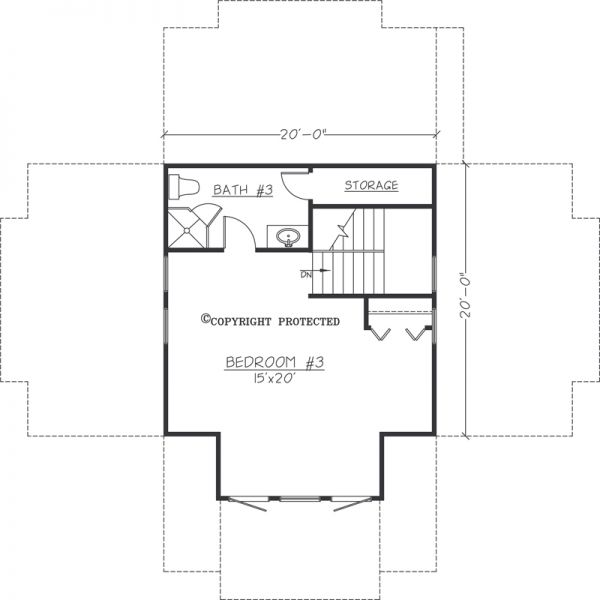 Asheville Model Home Interior Design 1264f: The Pedestal 2020 Floor Plan