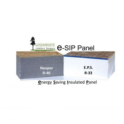 U.S. Dept. of Energy tests show SIP construction is 15 TIMES more air tight than stick framing.
