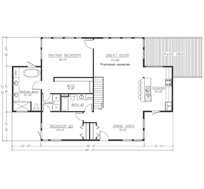 Design Contemporary 3616 Floorplan1