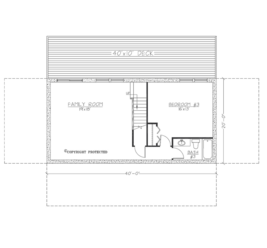 Design Contemporary 4020 Floorplan2