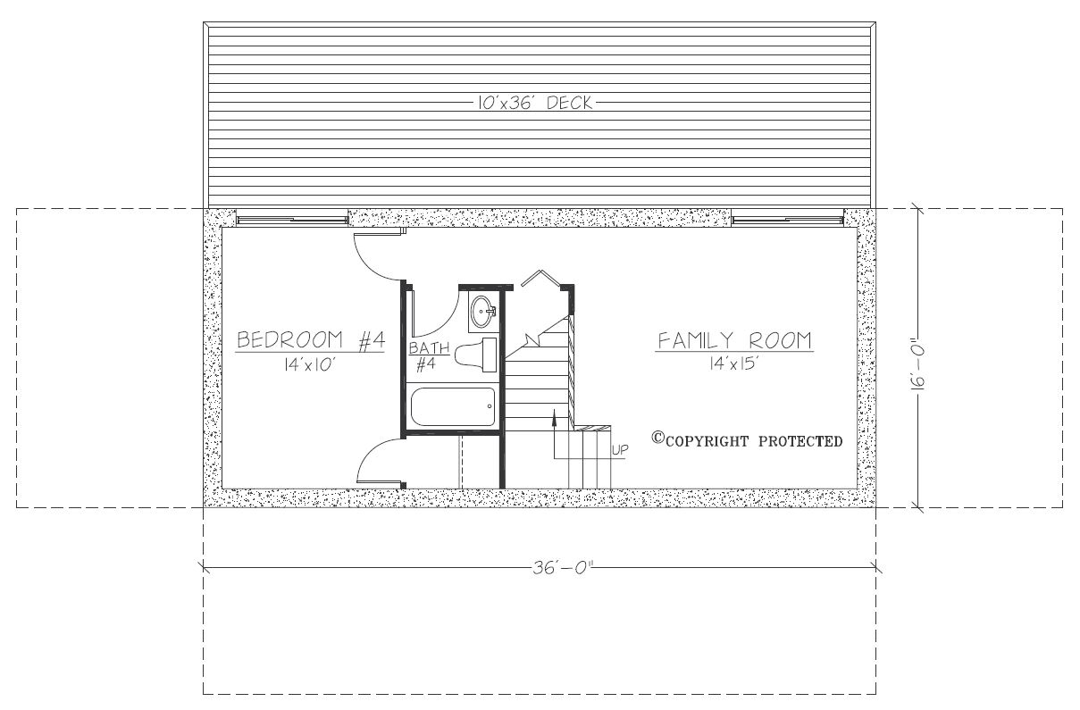 Design Contemporary Tranquility 3616 Floorplan2