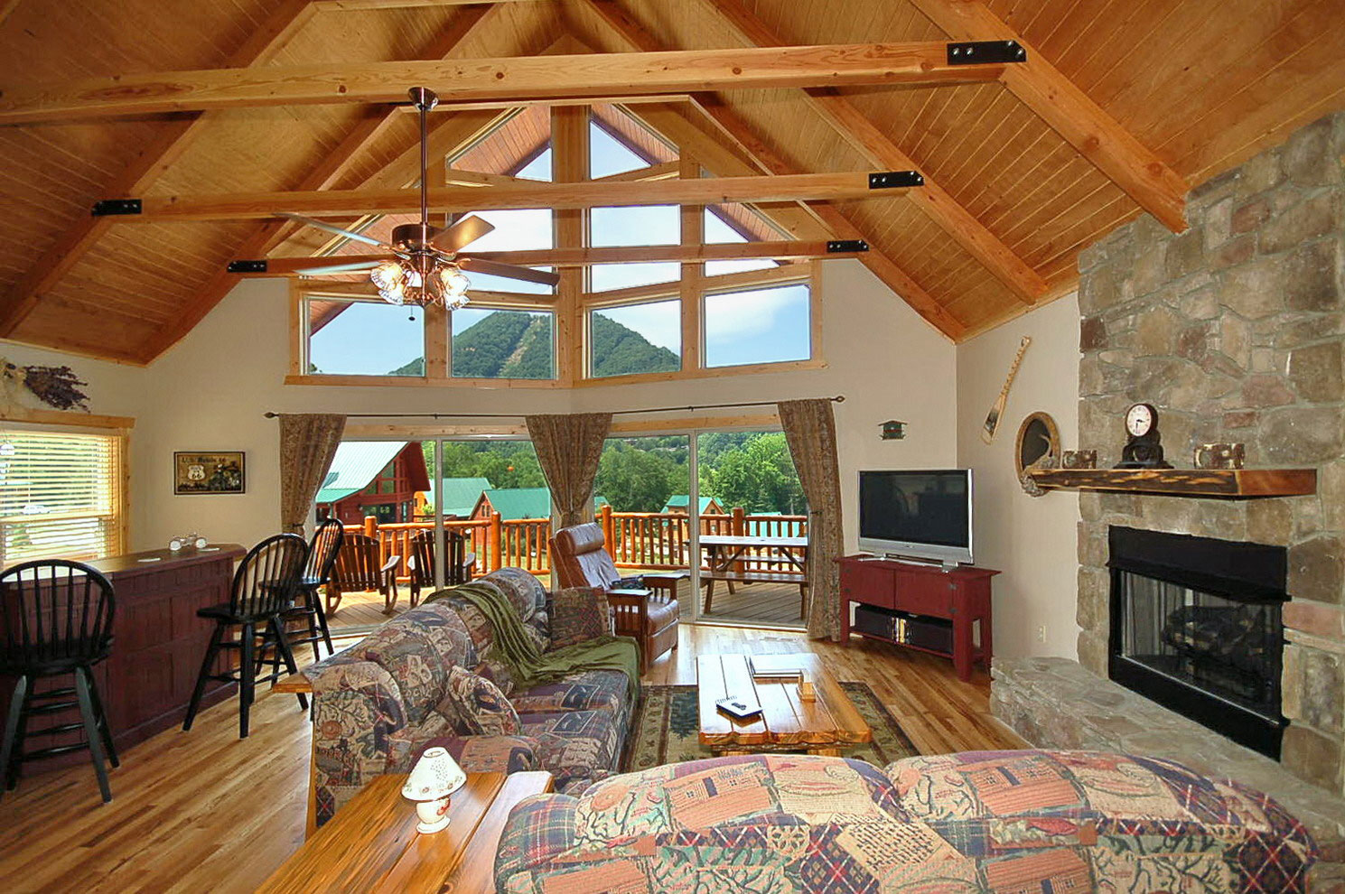 Chalet Timber Home Interior