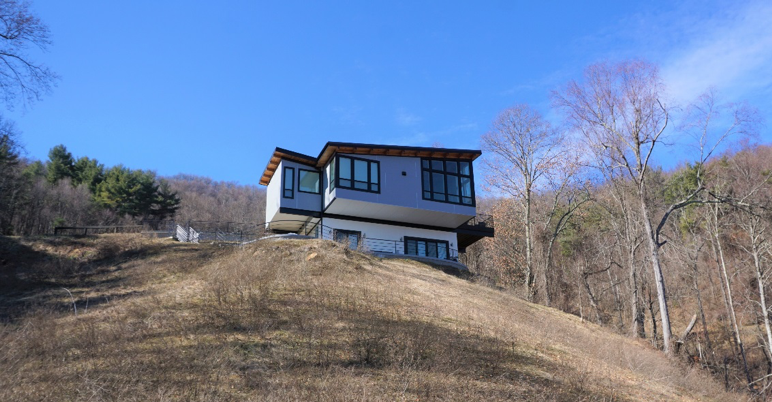 Post and Beam Home Exterior